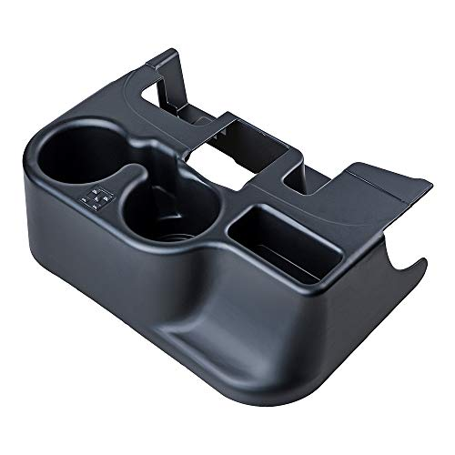 Astra Depot Compatible with Dodge RAM Truck 1500/2500/3500 Center Console Cupholder Addition Matte Black