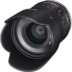 RetinaPix Samyang 21 mm F1.4 ED AS UMC CS Wide Angle Lens for Mirrorless Camera, Fuji X Black