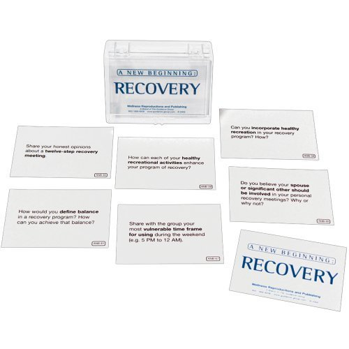 A New Beginning Recovery Card - Beginning Activities