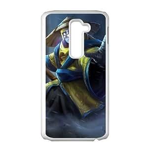 LG G2 Cell Phone Case White League of Legends PAX Jax VB6997846