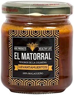 Levantamuertos (miel pura, polen fresco, jalea real y própolis), 220g