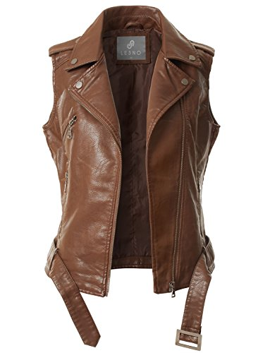 Women Leather Vest - 7