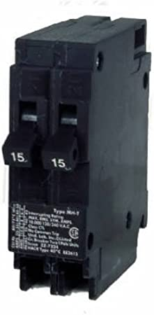 Murray 15 Amp 1 in Single-Pole Combination AFCI Circuit Breaker 2-Pack