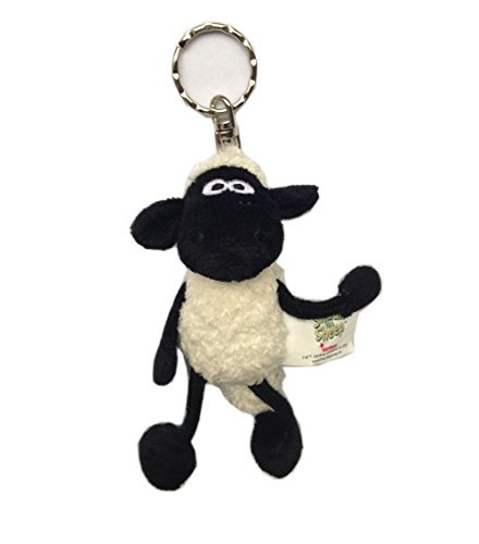 Shaun The Sheep Plush Doll Stuffed Toy Key Ring - Hanging Toy Doll Birthday Friends Gift
