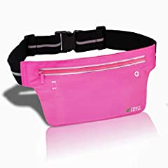 FEATURESlim but DurableBuilt with high-quality, strong and durable material yet extremely light-weight.Your safeguardUnlike other sport belts, we use specialized 3M Reflective Strips that runs horizontally around the entire sport belt, provid...