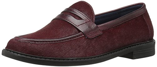 Cole Haan Dames Pinch Campus Penny Loafer Tawny Port Hair Calf / Tawny Port Leather