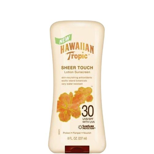 Hawaiian Tropic Sheer Touch Lotion SPF 30 - Sonnenschutz Lotion LSF 30 aus USA