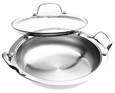 Cuisinart 7BSR-28 Stainless 11-Inch Round Buffet Servers, Various Style, Size