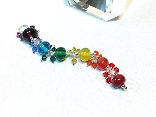 Beaded Light Pendant Multicolor