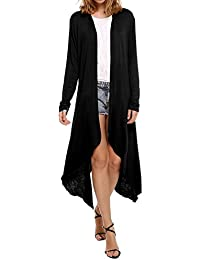 Womens Open Front Long Sleeve Cardigans Sweater(S-XXXL)