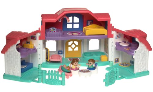 Mattel Little People (Fisher Price Little People Sweet Sounds Home)