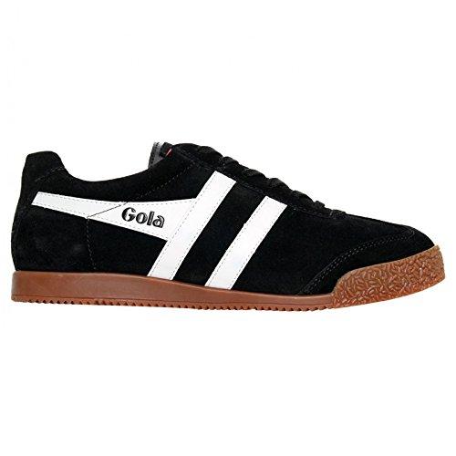 ashion Sneaker, Black/White/Red, 43 EU/10 M US (Red Black White Mens Sneakers)