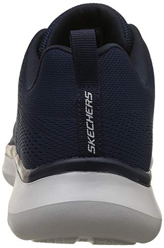 Sneakers grey Navy Uomo 52389 Nvgy Skechers gq48AwB