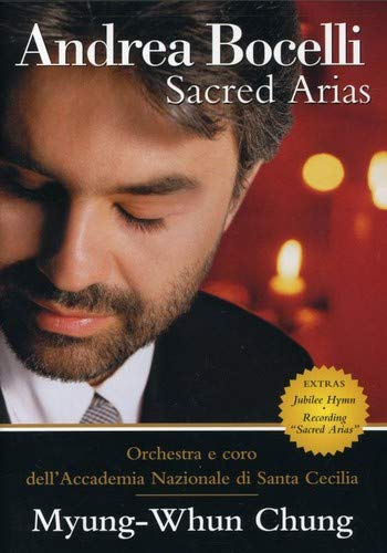 Andrea Bocelli - Sacred Arias: The Home Video by Philips (Image #1)