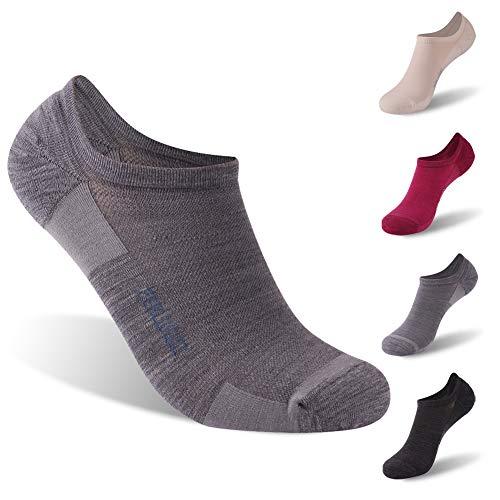 - Tennis Socks, ZEALWOOD Women Running No Show Socks Low Cut Performance Athletic Cushion Tab Sock,Best Christmas Gifts 1 Pairs-Black