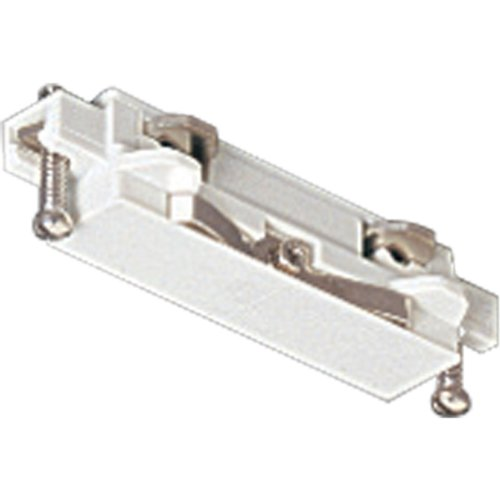 Progress Lighting P9115-28 Straight Connector for Joining Two Or More Track Sections, Bright White
