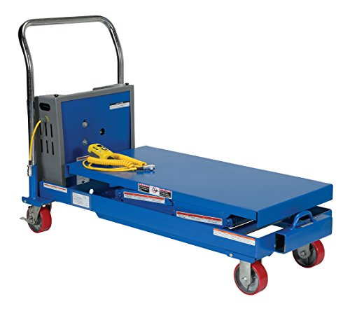Vestil-CART-SCTAB-750D-DC-DC-Power-Hydraulic-Double-Cart-750-lb-Capacity-40-x-20