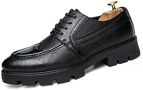 新しいファッショナブルな通気性の革はアウトソールブローグシューズメンズビジネスオックスフォードカジュアルを満たしています 快適な男性のために設計