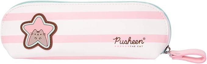Grupo Erik - Estuche mediano Pusheen Rose Collection (9 x 22,5 x 5 cm), Blanco/ Rosa: Amazon.es: Ropa y accesorios