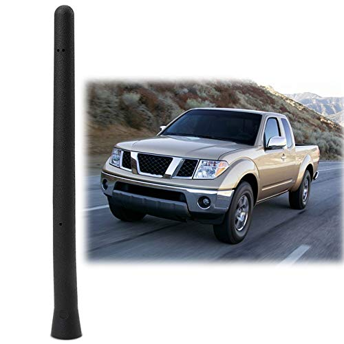 (6 3/4 INCH Antenna Mast Compatible Fit Nissan Frontier Short Antenna 2000-2019 Accessories)