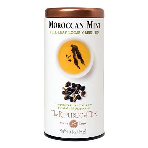 (Republic Of Tea, Tea Green Morrocan Mint, 5.1 Ounce)