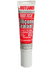 Rutland 500-Degree RTV High Heat Silicone Seal, 2.3-Ounce Tube, Clear