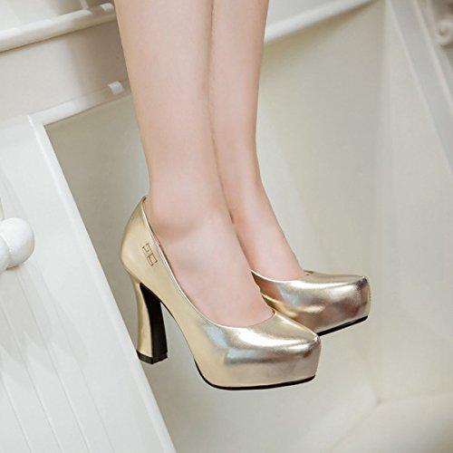 DoraTasia Damen Pumps Gold