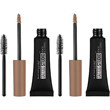 Amazon Com Maybelline Tattoostudio Waterproof Eyebrow Gel Makeup