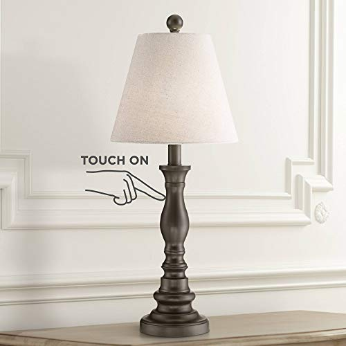 Archmond Traditional Desk Table Lamp Dark Bronze Metal Off