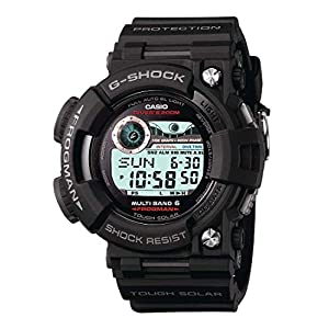41H0T8%2Br4ZL. SS300  - Casio Men's GWF1000 Frogman Black Solar Atomic G-Shock Watch