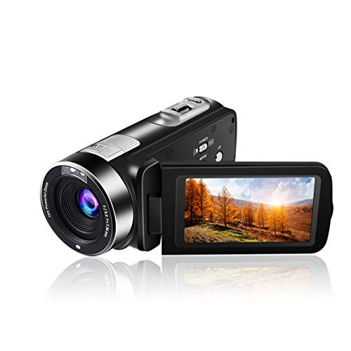 5.0M HD CMOS Sensor 3.0 inch TFT Flash Digital Camera 24.0 MP FHD LCD Rotation Screen Digital Camera with 16X Digital Zoom