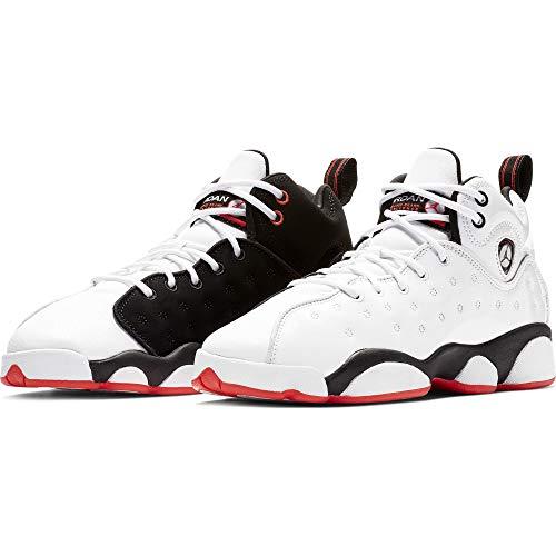 best service a9488 d36c7 Nike Jordan Jumpman Team II (GS) Boys Basketball-Shoes 820273-106 7Y -  White Black-Infrared 23