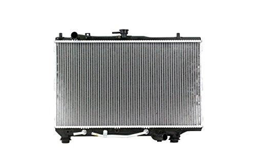 Radiator - Pacific Best Inc Fit/For 2056 95-97 Kia Sephia L4 1.8L Plastic Tank Aluminum Core Plastic Tank Copper Core