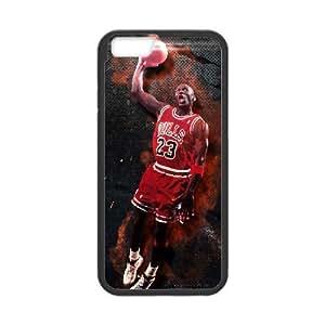 Michael Jordan iPhone 6 Plus 5.5 Inch Cell Phone Case Black eayz