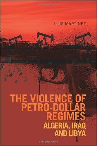 Télécharger gratuitement des livres audio en anglais The Violence of Petro-Dollar Regimes: Algeria, Iraq, Libya by Luis Martinez (2012-10-01) in French PDF ePub MOBI