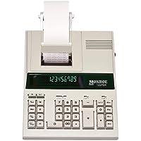 Monroe 122PDX Medium-Duty 12-Digit Print/Display Calculator (Calculator)