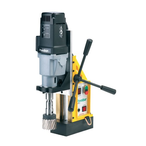 G&J Hall Tools PB700/2 Powerbor Electromagnetic Drill Press, 3'' Cutting Capacity, 110V, 4-1/4'' Width x 17-1/2'' Height x 13'' Depth by G&J Hall Tools