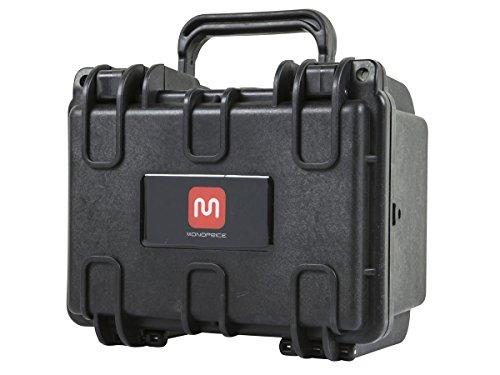 "Weatherproof Hard Case with Customizable Foam, 8"" x 7"" x 6"""