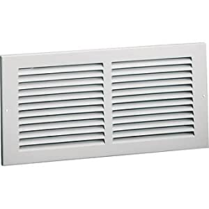 American Metal Products Stamped-Face Air Return Grille - 20 x 20 Inch