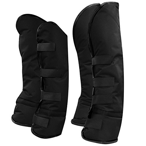 Extended Tab Cuff - Big Dees Shipping Boots Nylon Set of 4 Black/Black