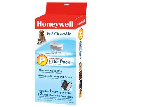 Honeywell HRF-CP2, Pet CleanAirTM Replacement Filter Combo Pack by Honeywell