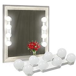 (2 Pack) Vanity Lights for Mirror, Recha...