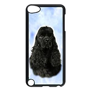 Custom American Cocker Spaniel Dog Hard Case Back Cover for Ipod touch5