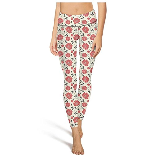 - Eoyles gy Pretty Women High Waist Tummy Control Flower Bouquet Funeral Flowers Workout Pants for Yoga Leggings