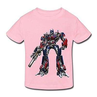 Kids Toddler Optimus Prime Transformer Little Boy's Girl's T Shirts
