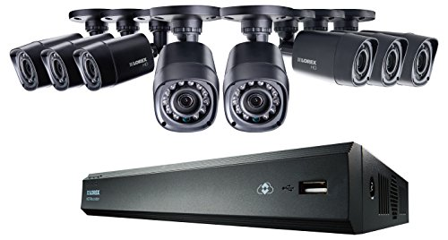 Cheap Lorex LHV00081TC8 8-Channel 1TB Cloud Connect with 8 x 720p HD Cameras (Black)