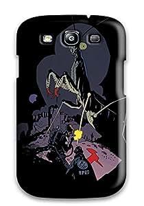 [MlnszIX26895hpnfW]premium Phone Case For Galaxy S3/ B.p.r.d. Tpu Case Cover