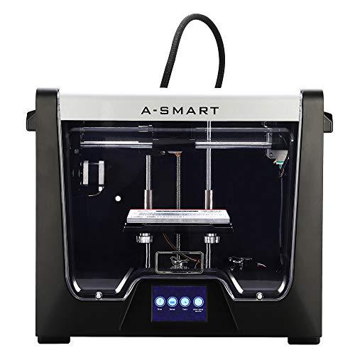 Junco Model A-Smart Desktop 3D Printer, 3.5 Inch Touchscreen, WiFi, Precise Printing with ABS,PLA,TPU,Flexible Filament, 5.9