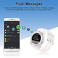 Smartwatch, Reloj Inteligente con Ranura para Tarjeta SIM Cámara Pulsera Actividad, Reloj Iinteligente Mujer Hombre niña niños para Xiaomi Redmi ...