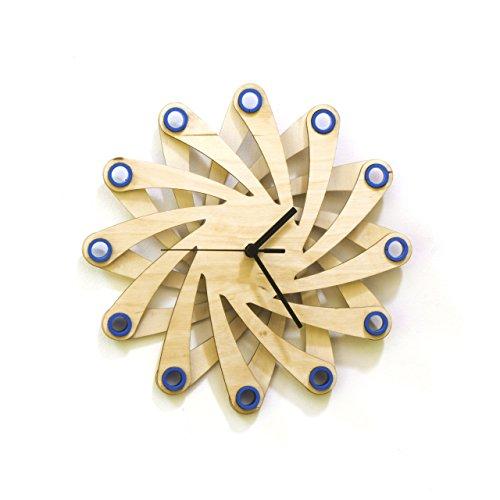 Galaxy Blue - 11½' Contemporary Stylish Handmade Wall Clock...